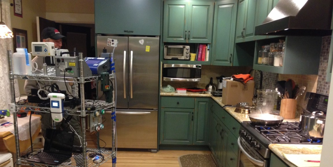 photo of residential kitchen