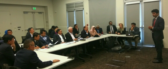 Indonesian Members of Parliament at Berkeley Lab