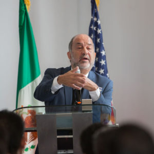 speaker at Mexico Energy Initiative