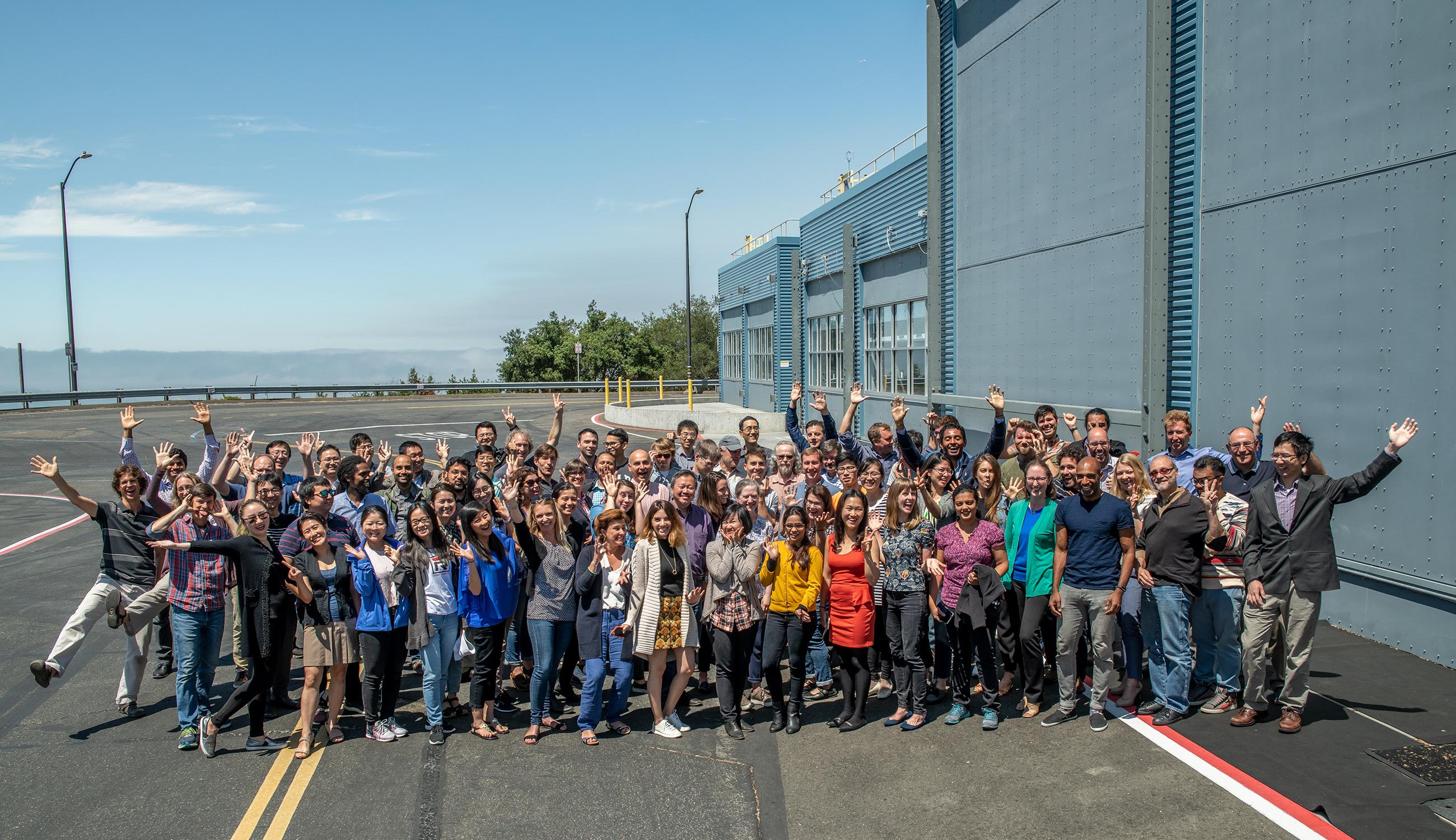 Group photo of EAEI staff